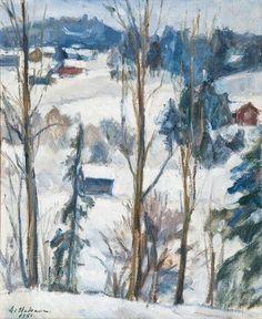 AALE HAKAVA  Winter View (1951)