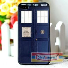 Tardis Doctor Who  iPhone 4/4s iPhone 5/5s/5c Samsung by Indomaret, $10.00