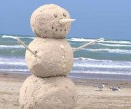 "This is my kind of ""snowman""!"