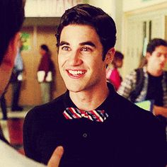 cutie gif Darren Criss as Blaine-glee