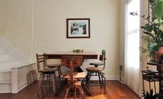 My Houzz: Antiques and curio items add interest to a Brooklyn brownstone - eclectic - dining room - new york - Laura Garner