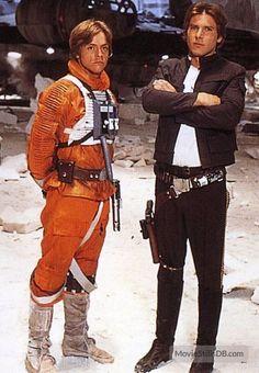 Star Wars: Episode V - The Empire Strikes Back - Promo shot of Harrison Ford & Mark Hamill
