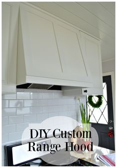 Diy Custom Range Hood Diy Custom Range Hood Save Money And Get What You Want By Building Your Own Diy Custom Range Hood Diy Custom Range Hood For Under 50 Chatfieldcourt Com Diy Hood Range, Wooden Range Hood, Custom Range Hood, Range Hoods, Range Hood Cover, Diy Kitchen Projects, Home Projects, Kitchen Ideas, Kitchen Design