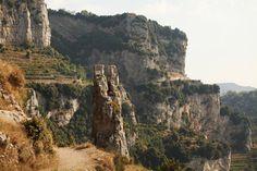 Path of the Gods (Sentiero Degli Dei) - Amazing hiking trail on the Amalfi Coast, Italy.  Trip for Gigi and I.
