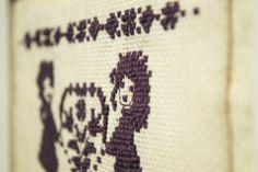 """""""Szeretettel"""" hímzett kép, Dekoráció, Otthon, lakberendezés, Kép, Falikép, Ezt a hímzést Anyák Napjára készítettem, de bármilyen alkalomból kedves ajándék lehet.  A ..., Meska Tattoo Quotes, Cross Stitch, Tattoos, Punto De Cruz, Tatuajes, Seed Stitch, Tattoo, Cross Stitches, Crossstitch"""