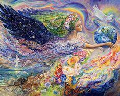 """Earth Angel (zoom)"" par Josephine Wall"
