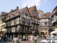The picture-perfect Colmar is one of the most beautiful places you'll ever see in France. Here's a guide on the best hotels in Colmar to help you plan your trip. Strasbourg, Alsace, Beautiful Buildings, Beautiful Places, Great Places, Places To See, Wonderful Places, Metz Ville, Empire Romain