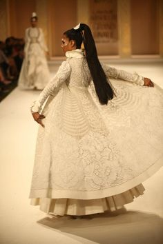 white, Indian style