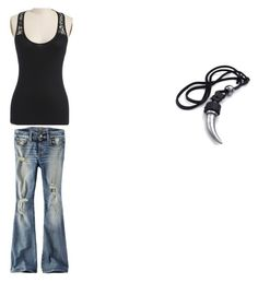 """""""Kita's Avatar"""" by iteenwolfalpha ❤ liked on Polyvore featuring American Eagle Outfitters"""
