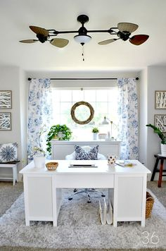 home office makeover pinterest. Unique Office Farmhouse Decor Ideas  Beautiful DIY Home That You Can Do Pin It  Now And Make Them Later And Office Makeover Pinterest