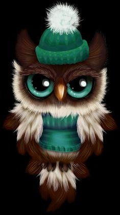 Winter dresses owl