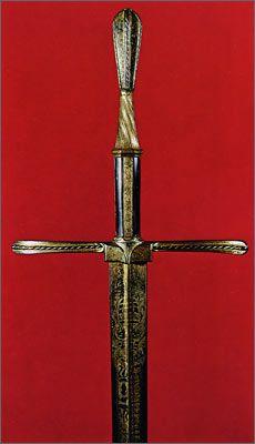 Parade sword of Emperor Maximillian I