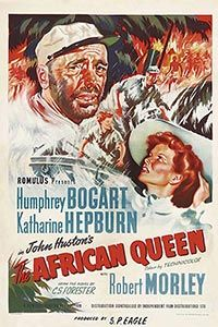 The African Queen (1951) - 09.27.12 #classic #movies #cinema #film #cinemarkclassicseries #humphreybogart #katharinehepburn #theafricanqueen