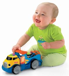 Fisher-Price Lil Zoomers Rockin' Roll Truck