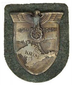 WW2 , Nazi Germany, Crimea Armshield , Krimschild