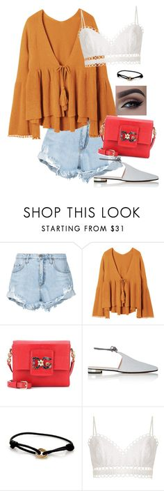 """Every day look "" by alwateenalr on Polyvore featuring Nobody Denim, Dolce&Gabbana, Barneys New York, Cartier and Zimmermann"