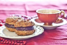 Coconut Chocolate Whoopie Pies - grain, dairy, nut and refined sugar-free