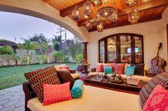 Hermosa Beach Mediterranean / Moroccan - Interior Design mediterranean patio