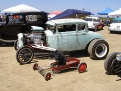 Hot Rod and Wagon by Jetster1