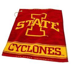 Iowa State Cyclones Ncaa Woven Golf Towel