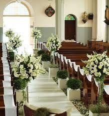 decoraciones de iglesias para bodas