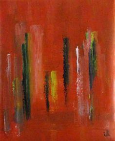 Titolo: Avenue with popplars, Tecnica: oil on canvas, Dimensione: 34 x 42 cm, Artist: