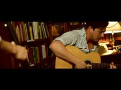 "Mumford & Sons perform ""White Blank Page"" in an acoustic bookshop session.  I love this sooo much."