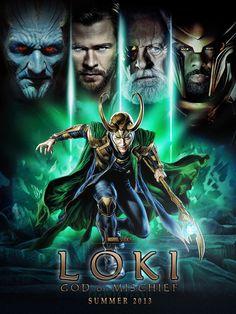 This is a manip / collage to make the Thor movie poster into the Loki movie poster. Loki, The Movie Loki Thor, Loki Laufeyson, Loki Marvel, Tom Hiddleston Loki, Marvel Funny, Marvel Comics, Loki Wallpaper, Chris Hemsworth, Loki Aesthetic