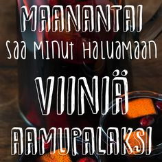 Maanantai viiniä! Cold Brew, Coffee Bottle, Brewing, Wine, Drinks, Drinking, Beverages, Drink, Cold Brewed Coffee