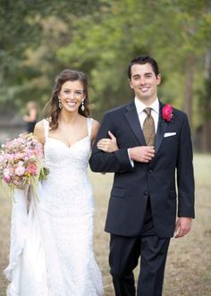 My daughter and son-in-law from Oklahoma Brides Magazine