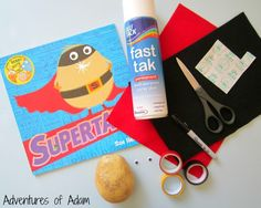 Resources needed to make Supertato Teaching Activities, Learning Games, Art Activities, Activity Ideas, Teaching Ideas, Early Years Teaching, School Themes, School Ideas, People Who Help Us