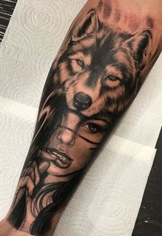 Chicano Tattoos Sleeve, Torso Tattoos, Wolf Tattoo Sleeve, Cool Half Sleeve Tattoos, Forearm Sleeve Tattoos, Tattoo Sleeve Designs, Wolf Tattoo Forearm, Hand Tattoo, Forearm Tattoo Design