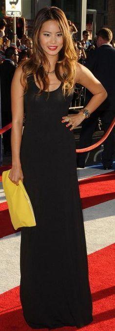 Tigerlily black maxi dress