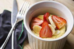5-Minute Banana Pancake in a Mug