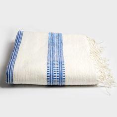 Blue Stripe Tablecloth