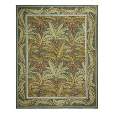 Palmetto 8x10 Rug Green now featured on Fab.