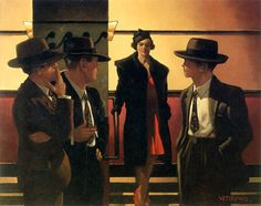 Jack Vettriano Sweet Is The Night oil painting for sale