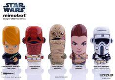 Star Wars MIMOBOT Designer USB Flash Drive (Lucasfilm, 2011)