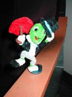 Pipe Cleaner Jiminy Cricket by fuzzymutt