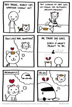 Robot Cat, Havin' Some Heartache