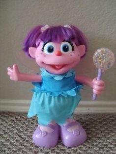 Fisher Price Sesame Street Learn to Fly Abby Caddaby Doll....  soooo cute