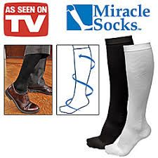 Miracle Socks By Ontel As Seen On Tv Anti-Fatique Compression Stocking Aching Legs, Compression Stockings, See On Tv, Riding Boots, Socks, Shopping, Product Ideas, Free Shipping, Usa