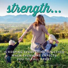 Military spouses exhibit strength everyday. www.in-dependent.org