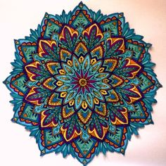 loveee the colors in this mandala. Mandala Tattoo Design, Mandala Art, Mandala Nature, Mandala Arm Tattoo, Mandalas Drawing, Mandala Painting, Mandala Pattern, Zentangles, Colorful Mandala Tattoo