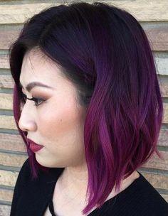 Purple Ombre Bob                                                                                                                                                                                 More