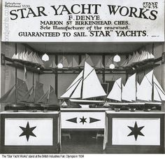 A history of the Star Yacht company in Birkenhead, England who, for nearly 70 years, manufactured their iconic pond yachts and children's toy sailing boats. Model Sailboats, Small Sailboats, Vintage Models, Vintage Photos, Sailing Dinghy, British Seaside, Nautical Art, Model Ships, Antique Toys