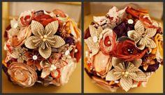 lovely kusudama flowers. tutorial here: http://foldingtrees.com/2008/11/kusudama-tutorial-part-1/