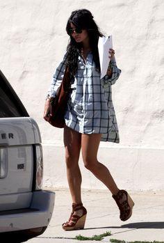 Vanessa Hudgens in Hollywood, April 21, 2009
