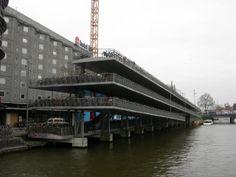 Amsterdam - Bicycle parking garage