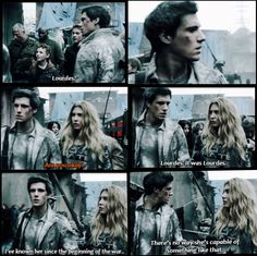 Hal finds out Lourdes is the mole ~ Falling Skies